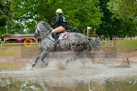 Ginnie Turnbull and Poetic Justice II, Subaru Houghton International Horse Trials, May 2011