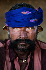 Portrait of a Gujarati Dairy Farmer