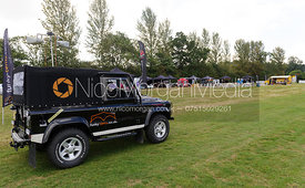 Sponsors tents and displays - The Sturgess Jaguar & Land Rover Polo Cup