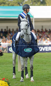 Andrew Nicholson and AVEBURY - The Prize Giving, Burghley Horse Trials 2014.