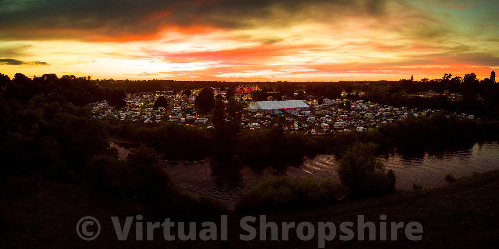 Shrewsbury Folk Festival 2017 (Panorama)