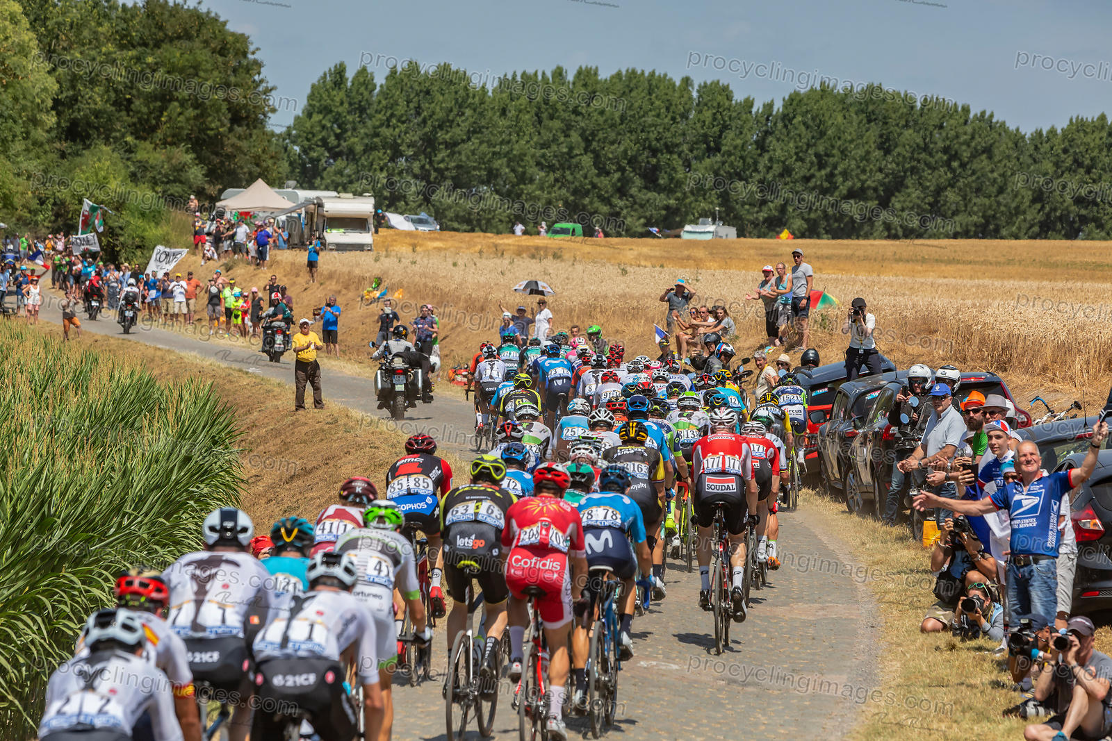 The Peloton - Tour de France 2018