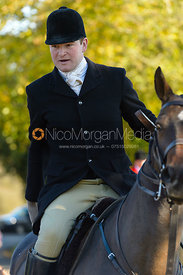 Ed Winterton at the meet at Ingarsby Hall 27/10
