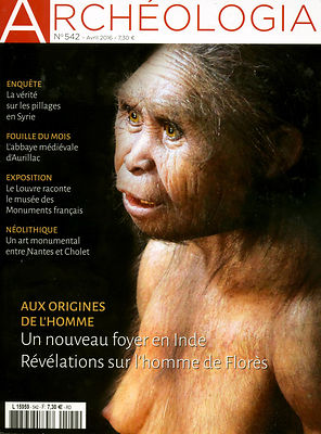 Archéologia n°542 (avril 2016) photos