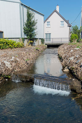 House With Stream Under- Dingle, Ireland