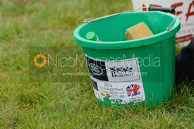 A Tagg Equestrian bucket - cross country phase,  Land Rover Burghley Horse Trials, 6th September 2014.