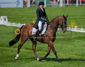 Gwendolen Fer and  Leria Du Ter - Dressage.