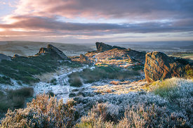January morning on Ramshaw rocks
