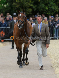 Mark Todd and NZB CAMPINO - First Horse Inspection, Mitsubishi Motors Badminton Horse Trials 2014