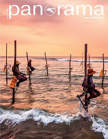 Couverture et publication dans Panorama Magazine National geographic