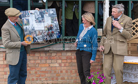 Presentation to Liz Murfitt - The Quorn at Garthorpe 21st April 2013.