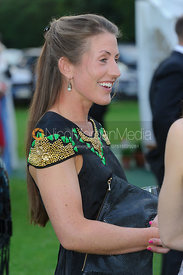 Chloe Newton at the drinks reception - Belvoir Hunt Unmissaball 2013