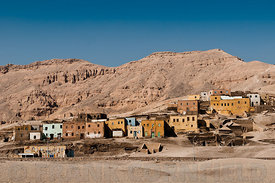 Village of Qurnet Mura'I, Luxor, Egypt