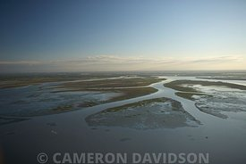 Aerial Atchafalaya Delta State Wildlife Management area