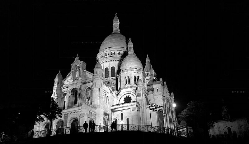 Montmartre by Night