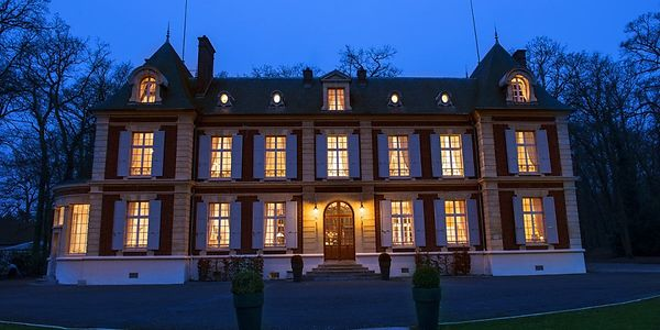 chateau de nuit pour shooting photo paris