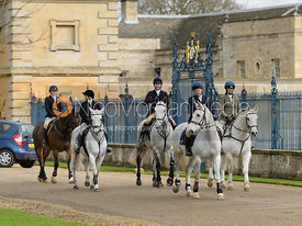 At the meet at Grimsthorpe Castle