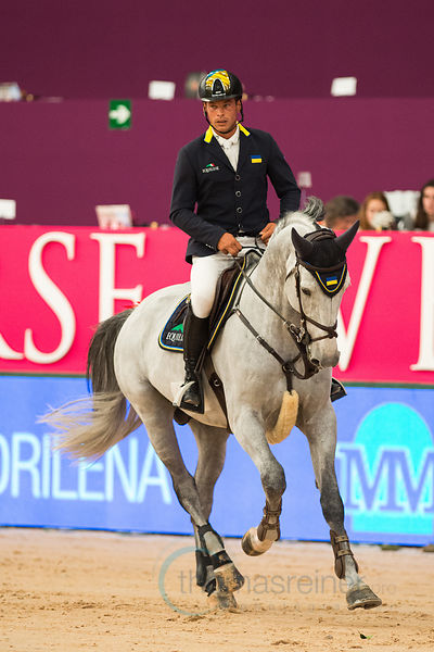 MUTUA MADRILEÑA TROPHY Int. six bar jumping competition photos
