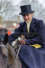 Holly Campbell - The Cottesmore Hunt's Boxing Day meet 2013.