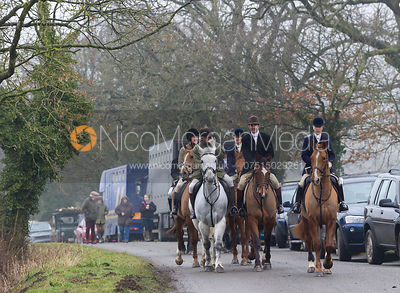 The Cottesmore Hunt at Furze Hill 26/2 photos