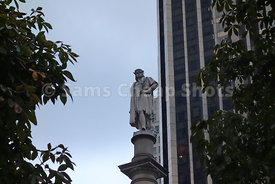 Landmarks, Christopher Columbus Statue, Columbus Circle, NYC