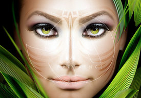 Avatar woman face