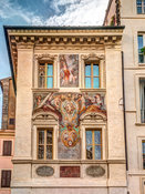 Architectural Feature of old building in Rome
