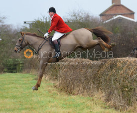 Michael Dungworth jumping Hose Thorns - The Belvoir at Long Clawson 10/12