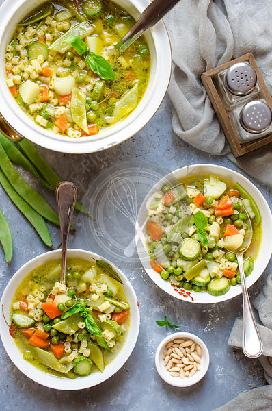 Minestra ( Vegetable Soup)