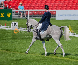 Matthew Wright and Well Spotted - Dressage.