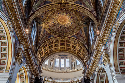 Dome de la Cathédrale Saint-Paul