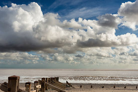 Landscape | Canvas wall art | Yorkshire | Beach view