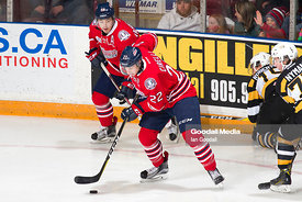 Oshawa Generals vs Kingston Frontenacs on January 8, 2017