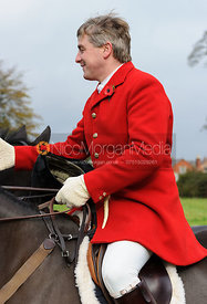 Michael Dungworth MFH - The Belvoir Hunt at Long Clawson, 2-11-13