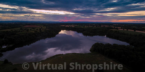 Colemere Dusk (Panorama)