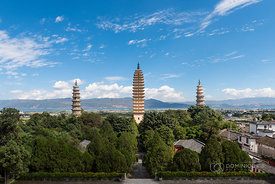 Three Pagodas of the Chongsheng Temple