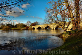 Atcham Bridge, River Severn