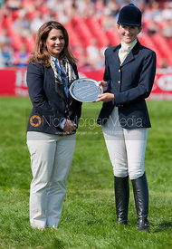 Fiona Hobby and Princess Haya, Badminton Horse Trials 2011