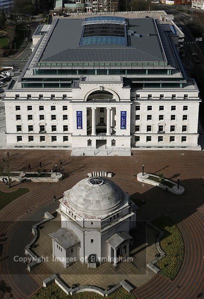 Baskerville House in Centenary Square, Birmingham, England, UK
