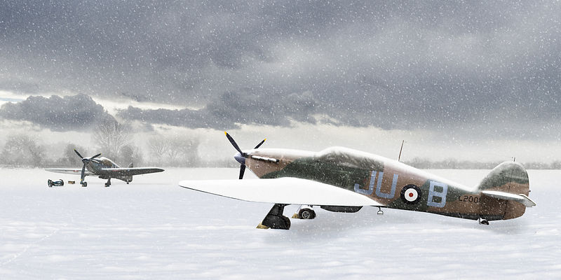 Hurricanes in the snow