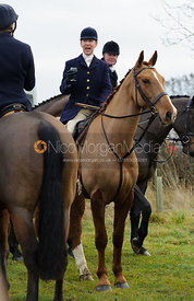 Gems McCormick MFH - The Cottesmore Hunt at Hill Top Farm 10/12/13