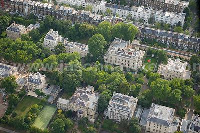 Aerial Photographs Kensington Palace Gardens Jason Hawkes
