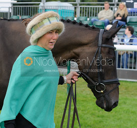 Kerry Varley and BLUESTONE LUKE - Burghley 2015.