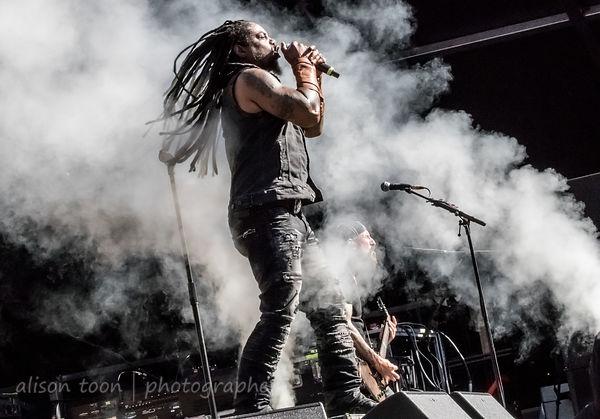 Lajon Witherspoon,, vocals, Sevendust