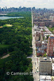 New York City Central Park Aerial Photograph