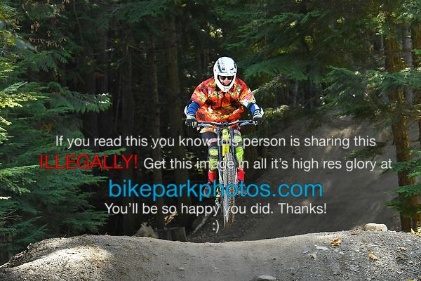 Tuesday September 25th Heart of Darkness bike park photos