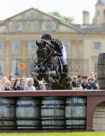 Kai-Steffen Meier and  TSF KARASCADA M - Cross Country - Mitsubishi Motors Badminton Horse Trials 2013.