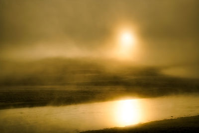 Yellowstone Fog