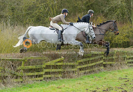 jumping a hedge away from Town Park Farm