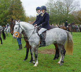 At the meet - Quorn Hunt Opening Meet 20/3